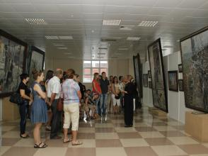 Экскурсия на выставку Павла Рыженко